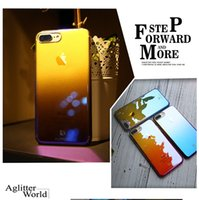 newest luxury phone case electroplate color gradual change u...