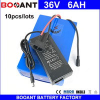 BOOANT 10pcs lots 36V 6AH For Bafang 450W Motor Electric Bic...