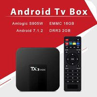 Android Tv Box TX3 Mini 2GB 16GB 17. 6 Amlogic S905W Android ...