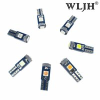 WLJH 100x Canbus T5 LED Car Instrument Panel Light Gauge Clu...