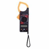 DT266 미니 디지털 멀티 미터 클램프 미터 전압계 전류계 Ohmmeter 볼트 AC DC 테스터 가정 유지 보수