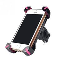 المضادة للانزلاق العالمي 360 الدورية دراجة دراجة حامل الهاتف المقود كليب حامل جبل القوس ل الهاتف المحمول الذكية