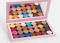 Vendita calda K Jenner 28 Colore Eye Shadow Shimmer Matte And Satin Shadows Spedizione veloce DHL + Regalo gratuito