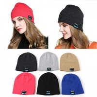 Wireless Bluetooth Beanie Hat Smart Warm Headphone Music Spe...