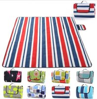camping mat single flannel picnic mat moisture folding trave...
