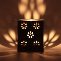 Classic Iron stand Ceramic Oil Burner Warm tea High Quality ...