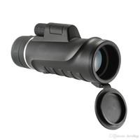 Eyebre 10x42 Telescópio Monocular Compact Handheld Multi-revestido Monocular Spotting Scope Telescope com Smartphone Adaptador de Montagem