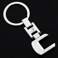 Автомобиль брелок брелок ключ держатель кольца для Мерседес Бенц Ц-класс С180 С200 С220 C260 C280 С300 С320 АМГ тип W202 моделей Мерседес W203 С230 С32 С36 С63