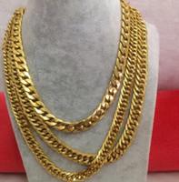 Ensemble de collier cubain Iced Out Bling complet pavé cz fermoir Hip Hop collier bracelet ensemble pour les hommes Miami Cuban Link or rempli chaîne pour hommes