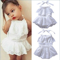 summer Hollow out Lovely Infant Baby Girl Hollow Out Lace Ba...