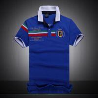 2018 Poloshirt твердые рубашки поло Мужчины роскошные рубашки поло с коротким рукавом мужская основные топ хлопок поло для мальчиков бренд дизайнер Поло Homme MP006