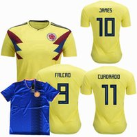 Colombia 2018 2019 Soccer Jersey 18 19 national team ARIAS J...