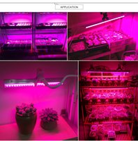 5730 SMD LED ampoule 85-265V LED élèvent la lumière 25W lampe 220V 110V EU prise interrupteur LED tube barre lumineuse pour la culture hydroponique de plus en plus