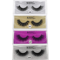 New Arrival 3d Mink eyelashes Thick real mink Hair false las...