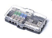Cartuccia fusibile multifunzione per autoveicoli con luce a LED - Fusibile multiplo AFS Quad 30A / 60A