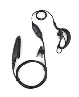 VOX PTT Kulaklık Kulaklık MIC için Motorola HT750 GP328 GP329 / 340 GP380 Radyolar