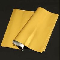 Kicute 50 fogli A4 oro caldo stampaggio foglio di carta laminatore laminazione trasferimento stampante laser calendario biglietto da visita 295 x 195mm