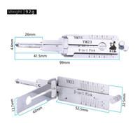 حار بيع أفضل أدوات السيارات lishi 2in1 اختيار Lishi YM23 2 في 1 اختيار قفل وفك