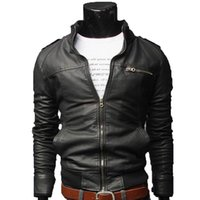 2018 New Mens Jackets Solid Color Men' S Outwear Jacket ...