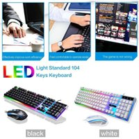 New G21 Keyboard Wired USB Gaming Mouse Flexible Polychromat...