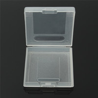 게임 카트리지 플라스틱 케이스 게임 카드 저장 상자 GameBoy 포켓 GB GBC GBP 보호기 홀더 커버 셸 고품질 빠른 선박