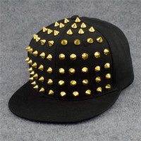 Fashion Hip Hop Baseball Cap Fashion Outdoor Hip-Hop Male Female Visor Armor Warrior Hat Rivets Punk Sun hat Peaked Cap
