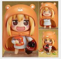 Cinco estrellas Versión Anime Q de arcilla seca hermana pequeña enterrada enterrada en el suelo 524 # juguetes de oficina de mano Cambiar cara adornos de muñecas juguete Niño
