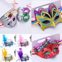 Lot Halloween Sexy Masquerade Masks Lace Masks Beautiful Ven...