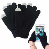 Inverno Donna Uomo caldo morbido guanti dello schermo capacitivo Texting smartphone touch per lo schermo Iphone Samsung Xiaomi capacitivo