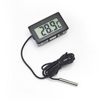 1 Piece Digital LCD Probe Fridge Freezer Thermometer Thermog...