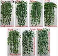 ALEGRIA-ENLIFE 1 pcs 90 cm Barato Artificial Ivy Folha Plantas Artificiais Plantas Garland Verde Videira Folhagem Falsa Decoração de Casa Decoração Do Casamento