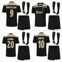 New Ajax soccer jersey kit set socks 18 19 10 KLAASSEN away ...