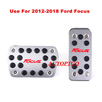 Use For Automatic 2012- 2018 Ford Focus Foot Pedal Pad Cover ...