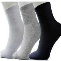 Wholesale- 5 paia / lotto vendita calda nuova moda marchio di qualità degli uomini calzini di marca / autunno sottile casual morbido cotone deportati calzino per gli uomini