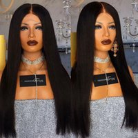 Heat Resistant Brazilian Human Hair Full Lace Wigs Glueless ...