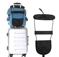 الحبال المحمولة إضافة حقيبة حزام حقيبة سفر الأمتعة حزام قابل للتعديل حمل على حقيبة بنجي الأشرطة اللوازم المنزلية
