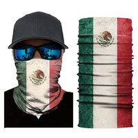 National Flag Series Neck Gaiter Pasamontañas Mascara Facial Exterior Bandana Diadema