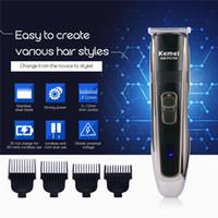 100-220VRechargeable Hair Trimmer Para Hombres Bebé Cortadora de Pelo Eléctrica Trimer Shaver Barba Trimmer Máquina de Corte Para Corte de Pelo