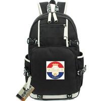 Виллем II Тилбург рюкзак Голландии дня пакет Футбольного клуб мешок школа футбол рюкзак качество рюкзак Спорт портфель Out дверь рюкзак