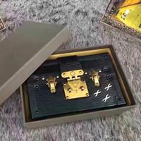 2017 di vendita calda di lusso borsette da sera borse in pelle Fashion Box all'ingrosso-Designer frizione famoso mattone Messenger Shoulder Bag Petite Malle