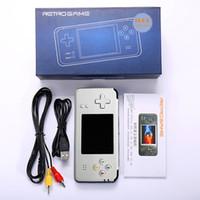 RS-97 versión actualizada de la consola de juegos Mini juegos portátiles de video Los jugadores pueden almacenar 3000 juegos de asistencia para NEOGEO / GBC / FC / CP1 / CP2 / GB / GBA DHL gratuito