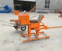 Zhengzhou سعر جيد آلة مصغرة الطوب، آلة تصنيع الطوب اليدوي منخفضة التكلفة في أفريقيا