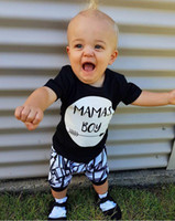 Summer New Arrival Baby Boys Clothing Set Children Mamas Boy...