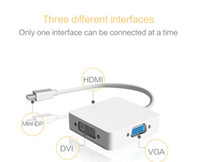 3 in 1 Mini DP DisplayPort to HDMI   VGA Display Port Cable ...