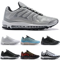 Designer 97 Plus Mens Womens Running Shoes Fire Red Light Gr...