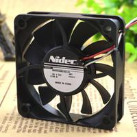 Для M60R24MGAB-53J56 24 В 0.08A NIDEC 60 * 60 * 15 3-проводной принтер питания вентилятора