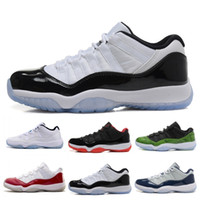 En gros 11 XI Hommes Bas Baskets Noir Stingray Gym Rouge Chicago Midnight Navy Space Confitures Pas Cher sport Sneaker US 5.5-13