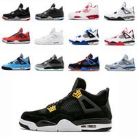 61fc0d14f31c3 Classic 4 4s Royalty hombres mujeres zapatillas de baloncesto zapatos  criados Thunder oreo Black Cat Classic
