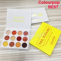 Makeup ColourPop 12 color Eye shadow pressed powder shadow p...