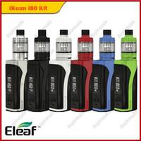 Original Eleaf iKuun i80 Kit 3000mAh Batterie 80W TC Mod mit 2ml Melo 4 Tank DHL